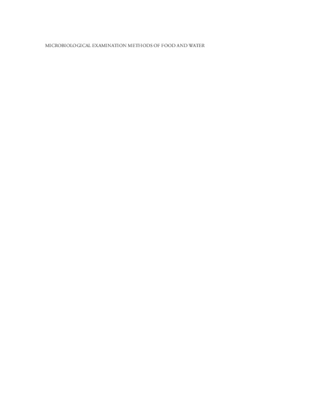 Microbiological examination methods of food and water _ a laboratory manual ( PDFDrive.com ).pdf